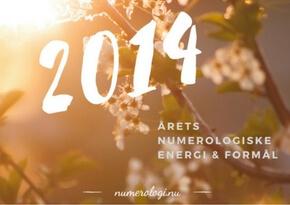 Numerologisk tema for 2014 - Millicentt Rosamunde