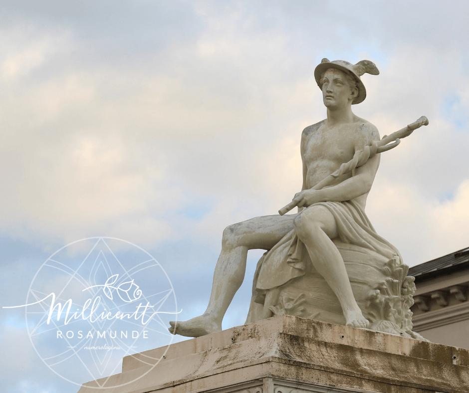 Merkur retrograd - astrologi numerologi Millicentt Rosamunde