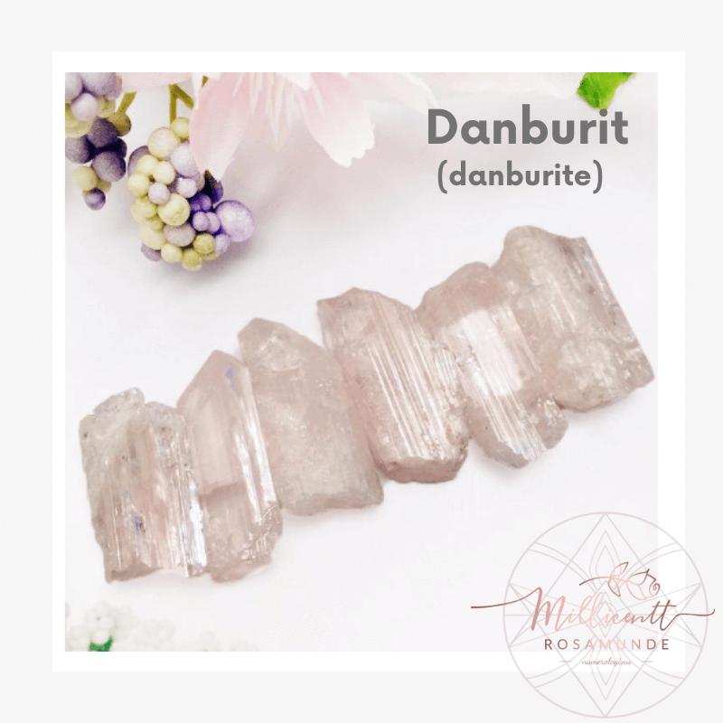 Danburit - krystal for februar 2020