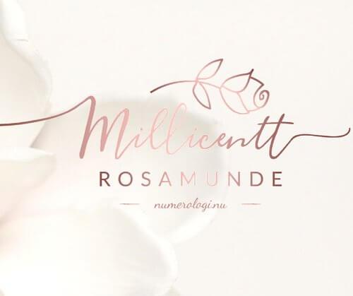 Fra Numerolog Millielil til Millicentt Rosamunde