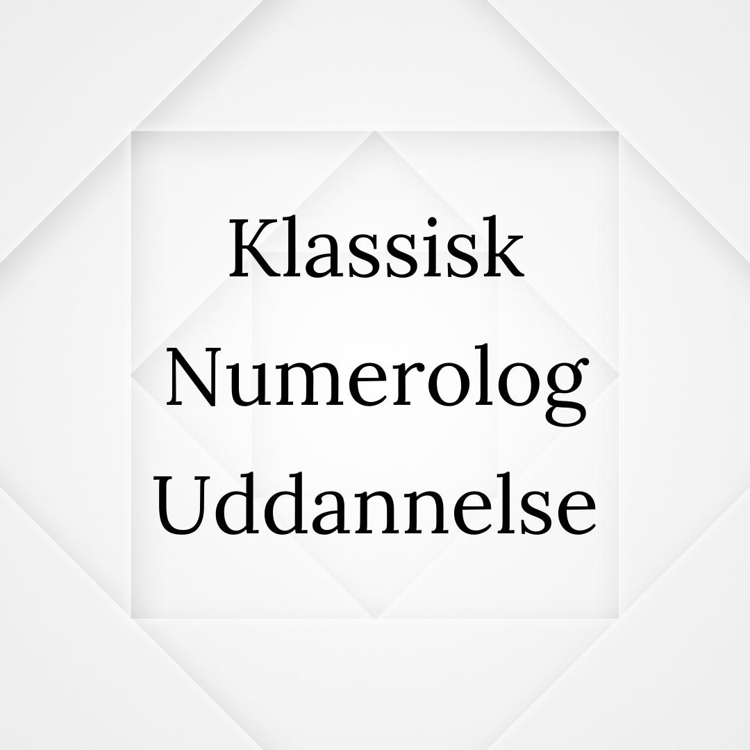 Den Klassiske Numerolog Uddannelse Millicentt Rosamunde